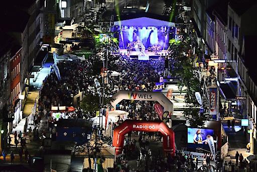 MusikfestiWels in der Welser Innenstadt