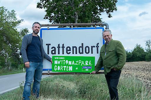 Tattendorf ist Nationalpark Garten Gemeinde