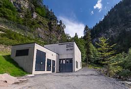 Hotel Lürzerhof eröffnet Wasserkraftwerk Taurach