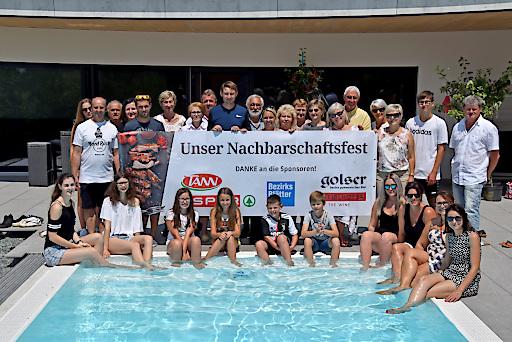 Nachbarschaftsfest bei Michael Oberfeichtner, Gewinner aus Stegersbach