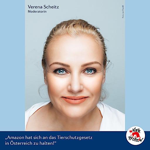 Verena Scheitz für VIER PFOTEN