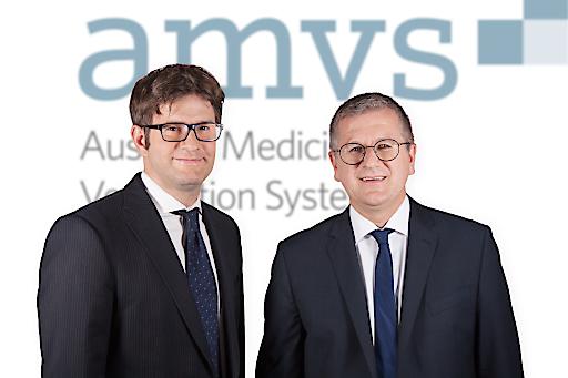 Doppelspitze in der AMVS GmbH. Das Geschäftsführer-Duo Christoph Lendl, MSc (li.) und Mag. Andreas Achrainer.