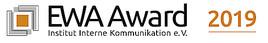 Dritte Asschreibung EWA Award 2019 setzt voll auf wertschätzende Mitarbeitermedien