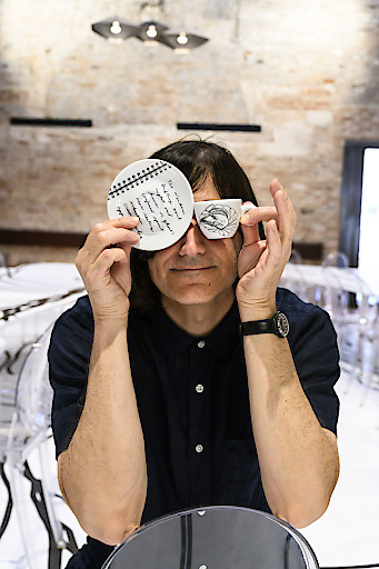 Cameron Jamie für das Dinner-Projekt in Zusammenarbeit zwischen illy, Guide MICHELIN und Biennale di Venezia