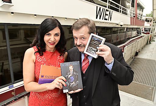 Jasmin Donati und Werner Gruber - Lesung auf der MS Wien