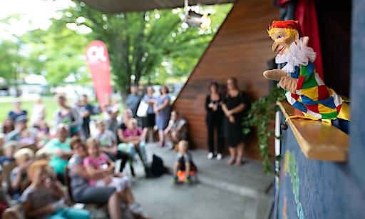 JoKiWo, St. Johanner Kinderwoche, Puppentheater im Stadtpark, Kasperltheater, 20190718, Salzburg, ©www.wildbild.at