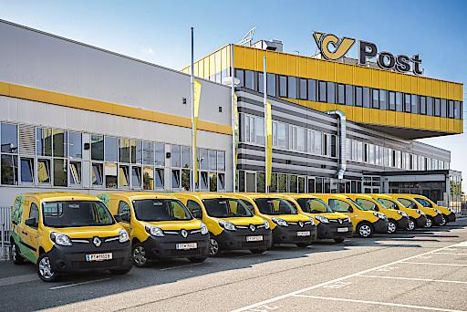 Renault Kangoo Z.E. Elektrotransporter der Österreichischen Post AG