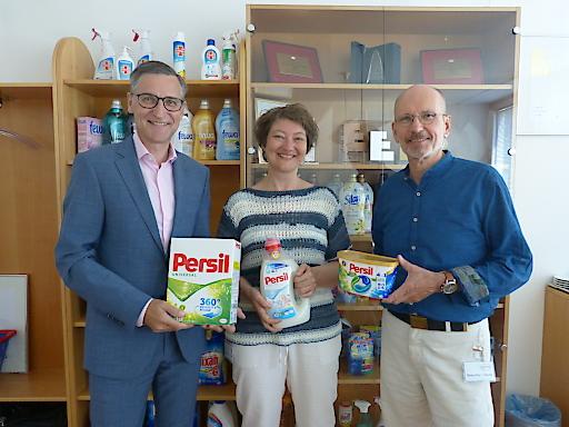 Henkel CEE unterstützt auch in diesem Jahr Auftakt GmbH mit einem Jahresbedarf an Waschmittel.