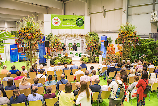 ORF NÖ-Bühne auf der Int. Gartenbaumesse Tulln