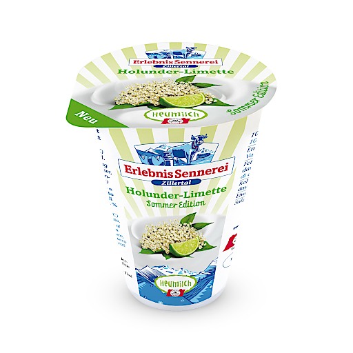 Die Erlebnissennerei Zillertal, größter Tiroler Milcherzeuger und Veredler von Milchprodukten in Familienbesitz, bringt erstes Holunder-Limette-Joghurt aus Zillertaler Heumilch ins Regal.