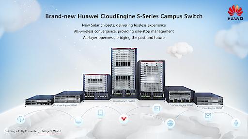 Die CloudEngine S12700E liefert die sechsfache Switching-Kapazität im Vergleich zum Branchendurchschnitt