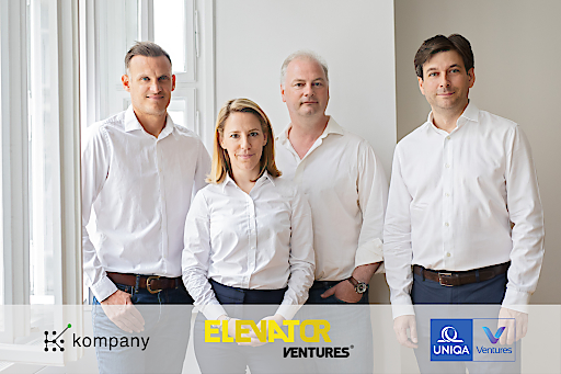 Elevator Ventures & UNIQA Ventures investieren in kompany
