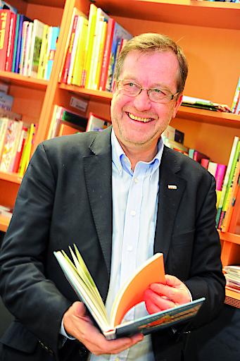 Komm.-Rat Friedrich Hinterschweiger, Obmann des Fachverbandes Buch- und Medienwirtschaft