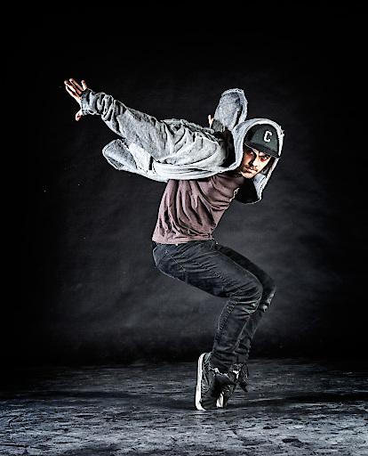 Freestyle-Tänzer Chris Cross