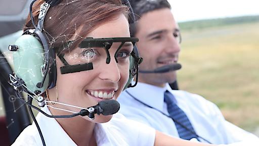 Eye Tracking in der Pilotenausbildung