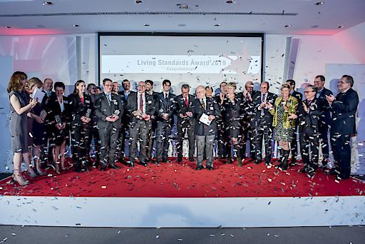 Verleihung des Living Standards Awards
