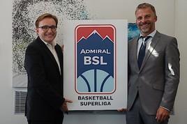 Startschuss für die ADMIRAL Basketball Superliga - mit ADMIRAL Sportwetten als Hauptsponsor