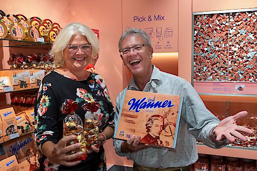 Manner Shop-Eröffung Salzburg Forum 1 Foto