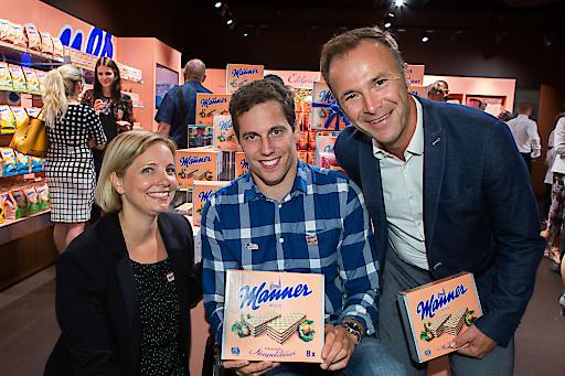 Manner Shop-Eröffung Salzburg Forum 1