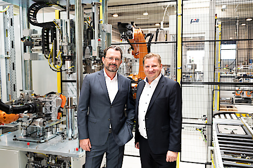 Die neue Geschäftsführung der PIA Automation Austria