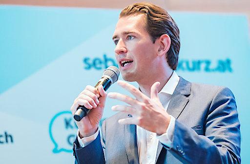 Sebastian Kurz mit der meisten Medienpräsenz im Monat August