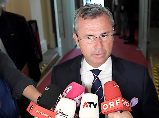 Norbert Hofer auf dem zweiten Platz des APA-DeFacto-Politikerranking