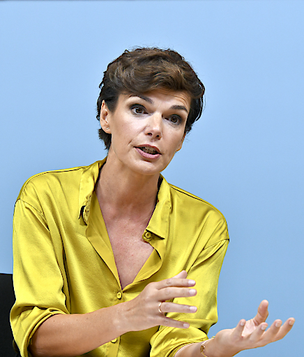Pamela Rendi-Wagner belegt im Monat August den dritten Platz im APA-DeFacto-Politikerranking.
