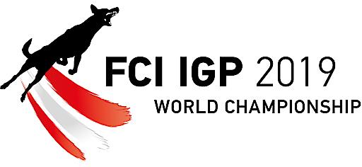 Logo Weltmeisterschaft des Gebrauchshundesports (FCI IPG WM 2019)
