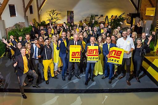 Die steirische Landesspitze gratulierte dem gesamten Antenne-Team zum Geburtstag