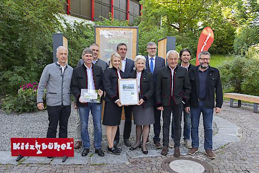 Kitzbühel wird als erste Region Tirols mit dem Europäischen Wandergütesiegel ausgezeichnet.