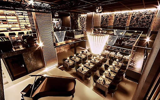 Der Dinner-Room wird ungefähr 90 Gästen Platz bieten. Ab 22 Uhr weichen die Tische dem Dancefloor.