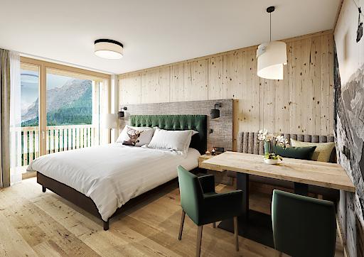 Familiensuite Zugspitz Resort Neubau