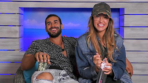 """Gewitterwolken über """"Love Island"""" - Der erste Auszug heute bei RTL II / Denise und Amin lernen sich kennen... / Weiterer Text über ots und www.presseportal.de/nr/6605 / Die Verwendung dieses Bildes ist für redaktionelle Zwecke honorarfrei. Veröffentlichung bitte unter Quellenangabe: """"obs/RTL II"""""""