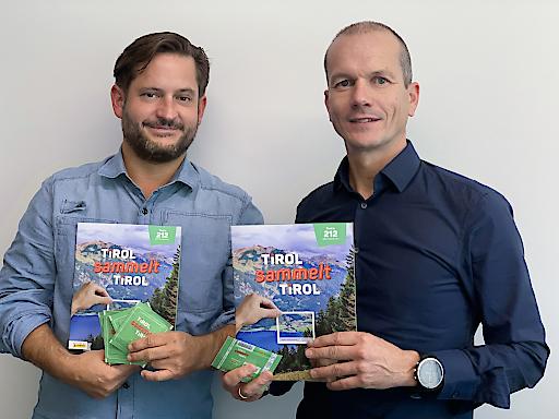 Ganz Tirol sammelt ab 15. September -Vertriebspartner sind Tiroler Tageszeitung und MPreis