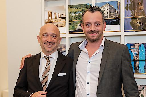 Axel Schuster (Capital Bank) Georg Sieber (Platzer Industrie Holding)