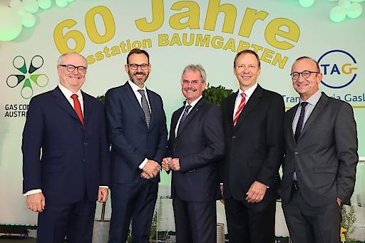 https://www.apa-fotoservice.at/galerie/20291 Rudolf Starzer, Geschäftsführung TAG, Daniele Gamba, Karl Wilfing, Präsident des NÖ Landtages, Stefan Wagenhofer und Harald Stindl, Geschäftsführung Gas Connect Austria.