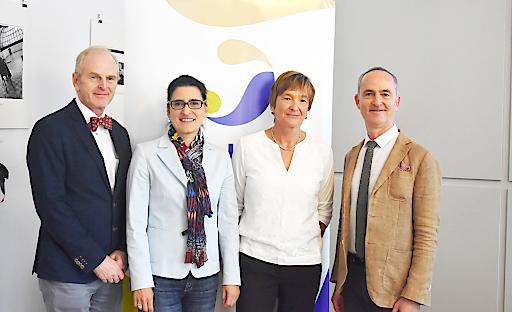 v.l.n.r.: Prof. Dr. Wolfgang Popp, Dr. Katharina Hauer, Country Medical Chair Sanofi Österreich, Mikki Nasch von Evidation Health und OA Dr. Helmut Brath.