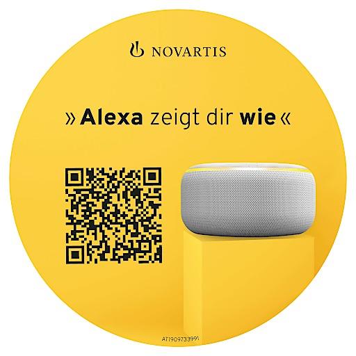 """Kostenlose App für Sprachassistent """"Alexa"""" hilft kritische Fehler bei der Inhalation zu vermeiden"""