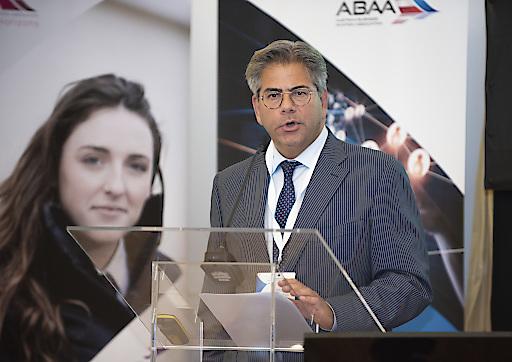 Athar Husain Khan, Secretary-General of the European Business Aviation Association