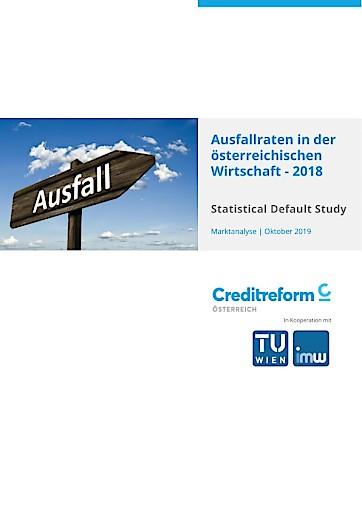 Creditreform Default Study 2018 – Ausfallraten der österreichischen Wirtschaft