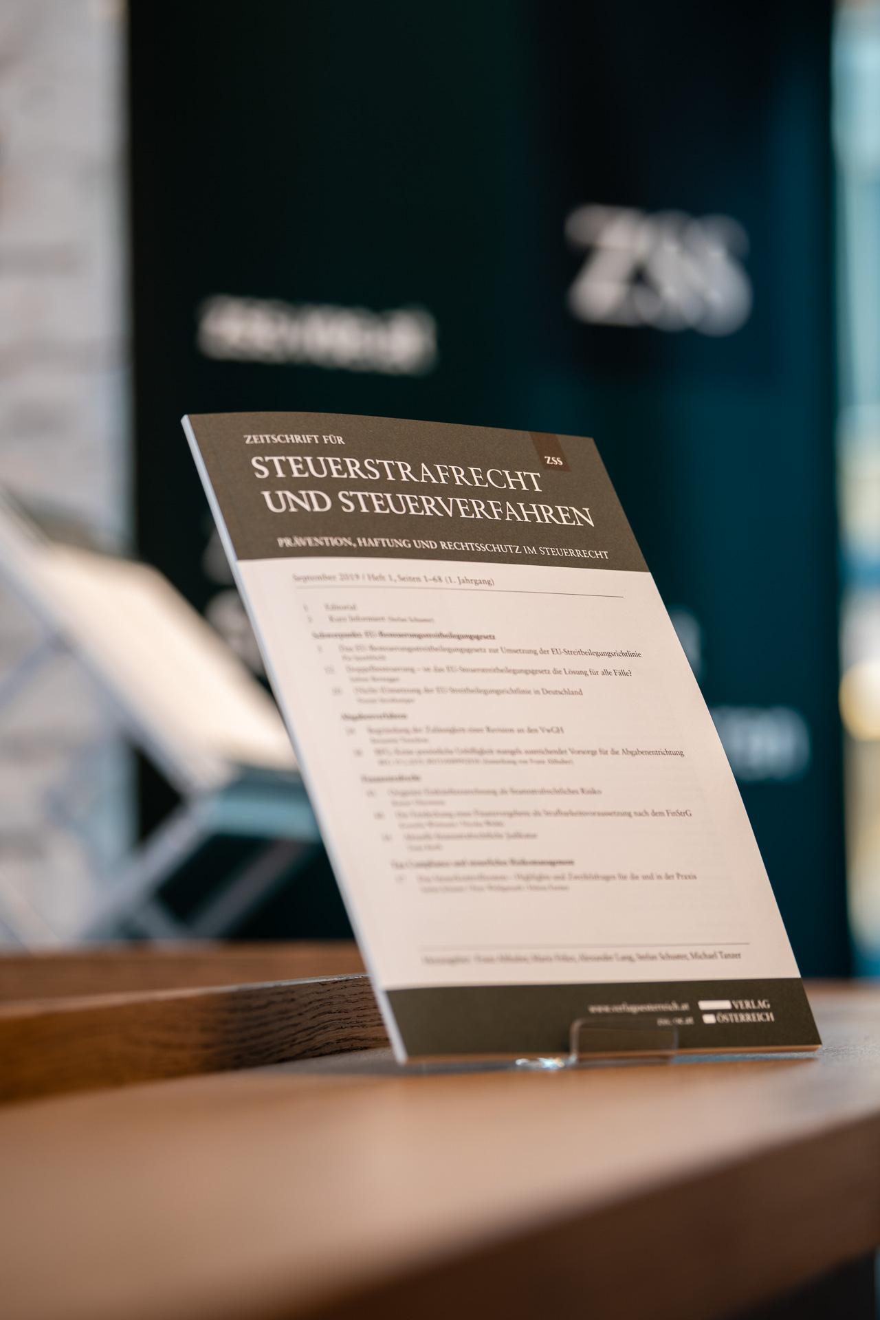 Zeitschrift für Steuerstrafrecht und Steuerverfahren (ZSS), Verlag Österreich