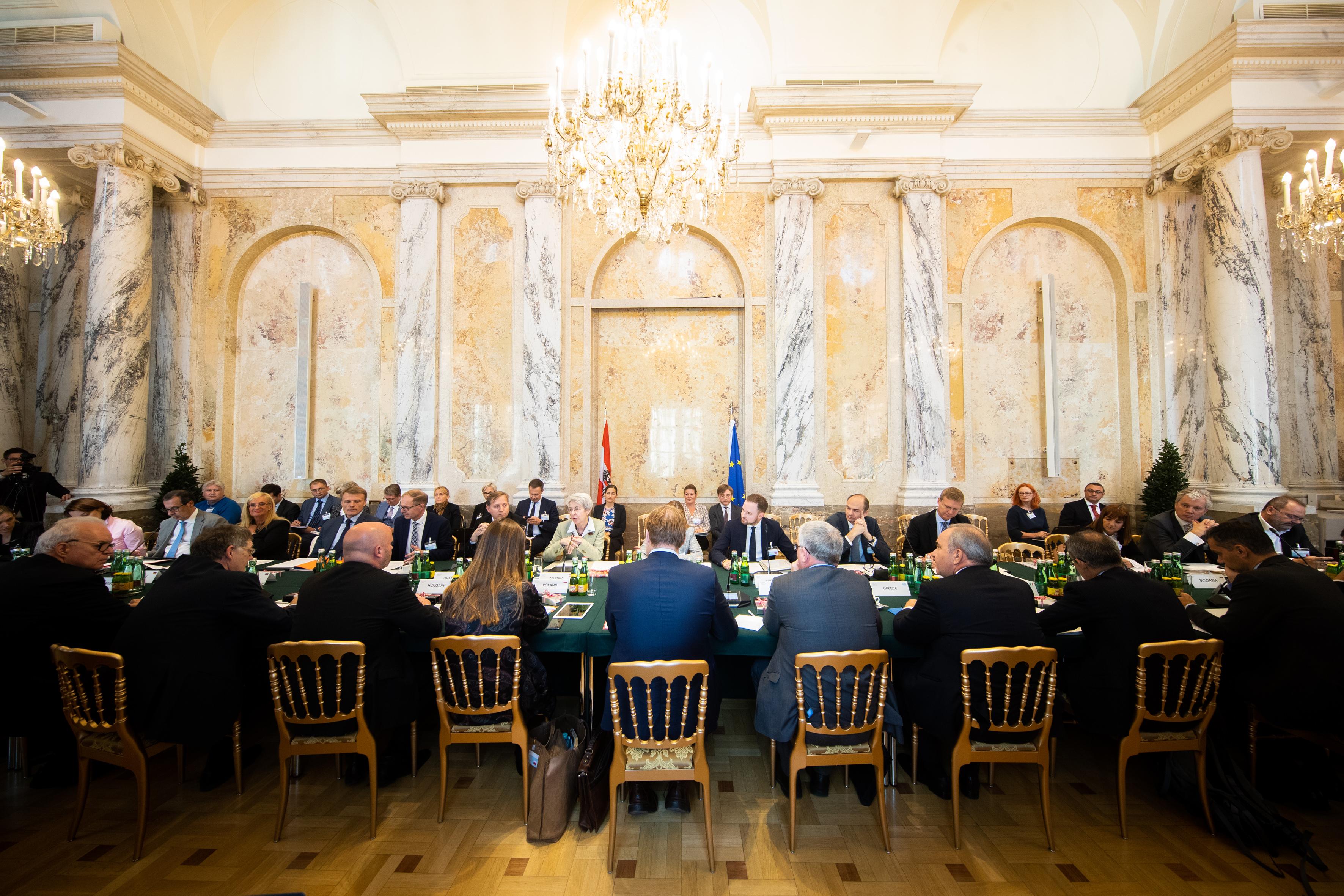 """Plenum der """"Friends of Industry""""-Konferenz"""