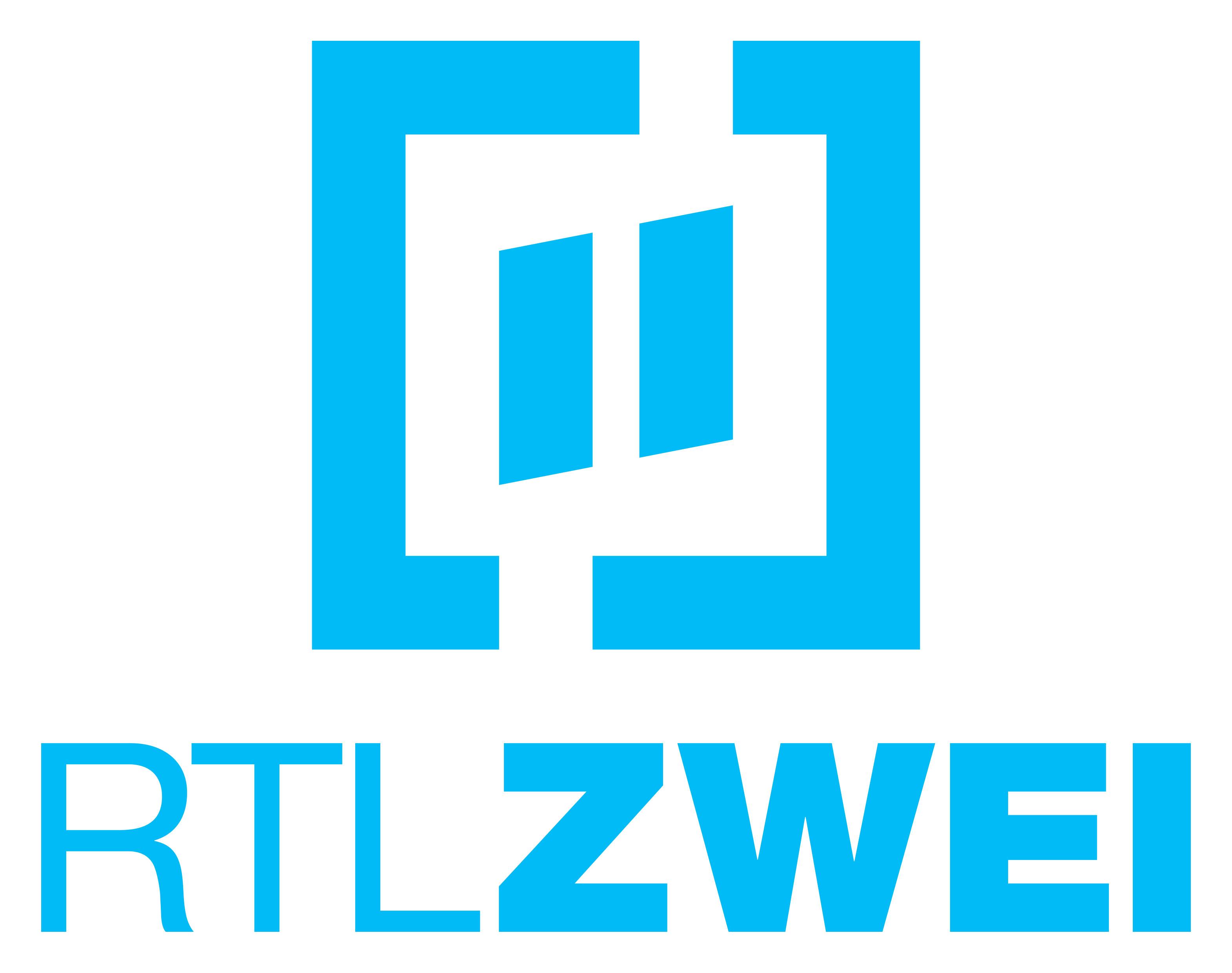 """Logo RTLZWEI azur Weiterer Text über ots und www.presseportal.de/nr/6605 / Die Verwendung dieses Bildes ist für redaktionelle Zwecke honorarfrei. Veröffentlichung bitte unter Quellenangabe: """"obs/RTL II"""""""
