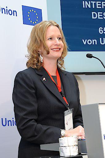 Dagmar Jenner, Präsidentin von UNIVERSITAS Austria, Berufsverband für Dolmetschen und Übersetzen