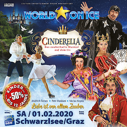 World On Ice - Cinderella (Artwork)