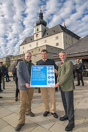VIP-Empfang im Café Restaurant Grenadier auf Burg Forchtenstein unweit des Messegeländes