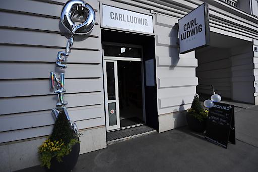 Bild zur OTS - Carl Ludwig Cafe Außenansicht