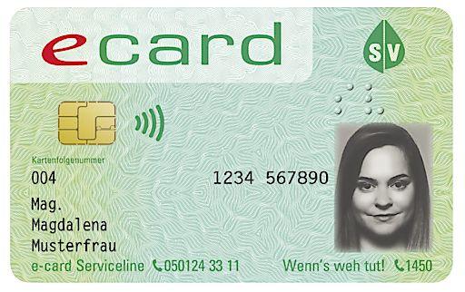 Die neue E-Card.
