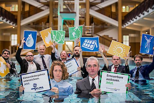 Die EEÖ ruft gemeinsam mit ihren Verbänden zum unterschreiben des Klimavolksbegehrens aus