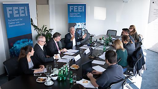 Auftakt zur FEEI-Digitalisierungsakademie zum Thema Künstliche Intelligenz - der Europäische Weg: Status Quo und Ausblick